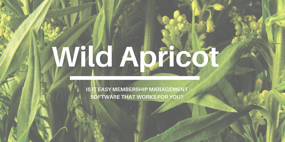 AMS Software Review of Wild Apricot