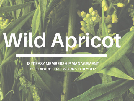 Wild Apricot AMS Membership Software Review