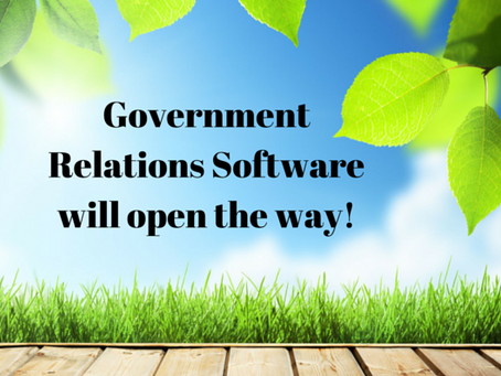 How Government Relations Software can create change in your Nonprofit?