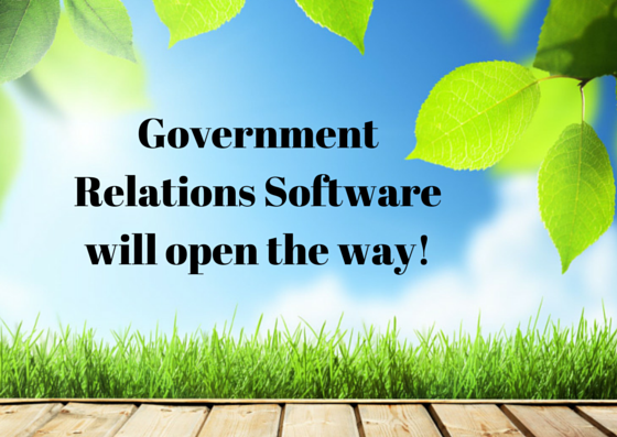 Government Relations Software for NPO's