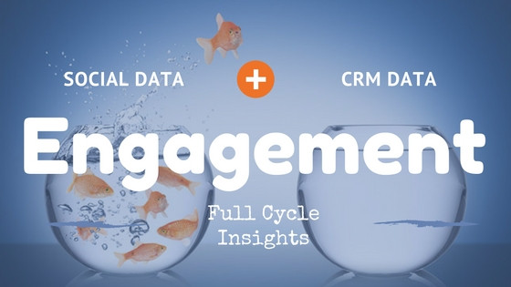 Social Data and CRM Data Combined for Engagement Insights