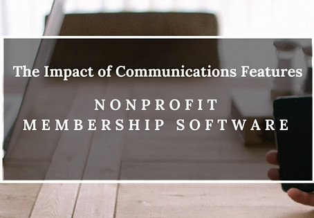 The Impact of Communication Features in Membership Databases