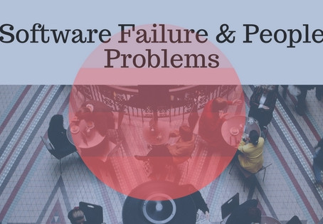 5 Ways People Can Be The Problem in Software Failure