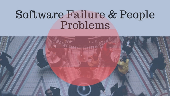 Nonprofit Software Failure and People problems