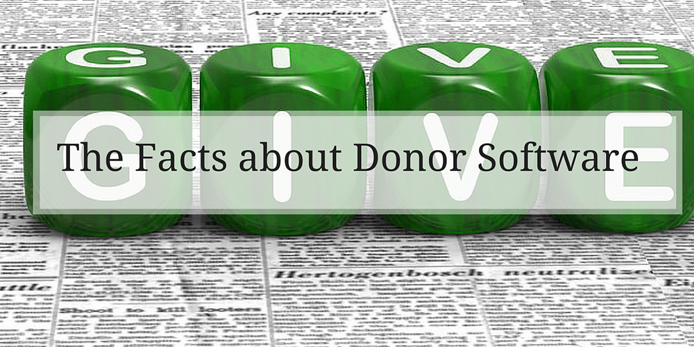 The Facts of Donor Software