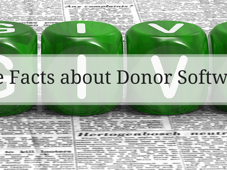 Damn Good No-Nonsense Facts about Donor Software in 2015