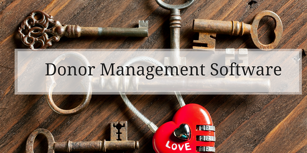Donor Management Software  should be at the heart of all nonprofits.