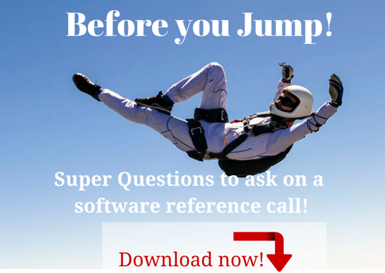 We provide a free document outlining the key questions to ask of a software reference