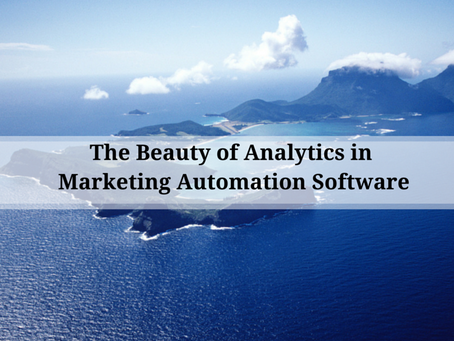The Beauty of Analytics within Marketing Automation Software