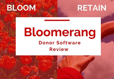 Bloomerang Donor Software Review
