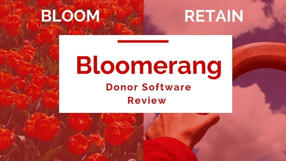 Bloomerang Donor Database Software Review