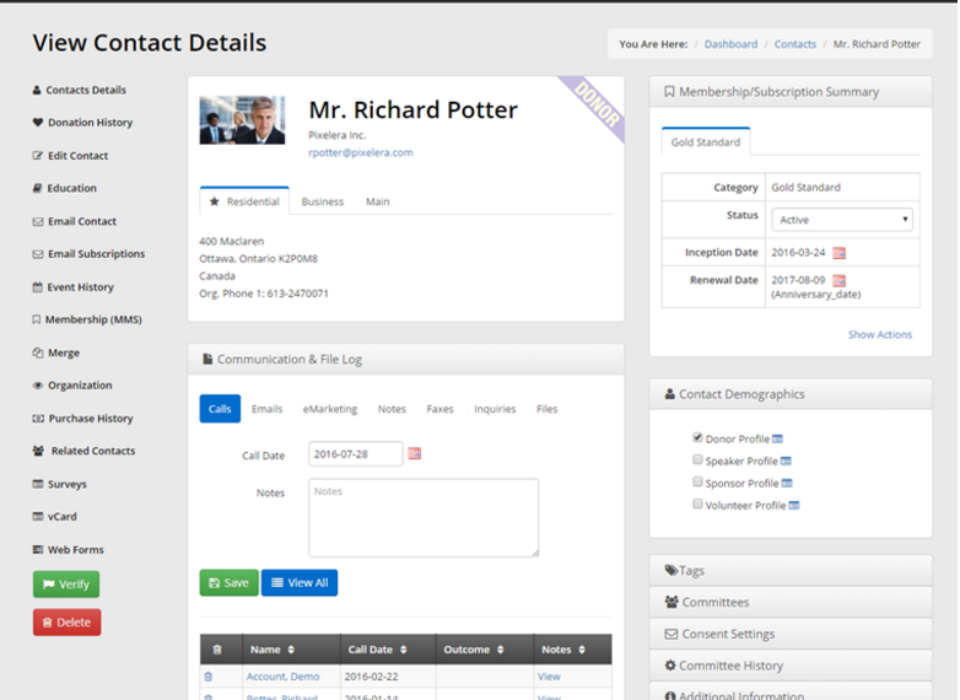 AMS Software Review of Member365