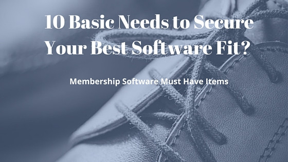 Database Software Fit for Membership Associations