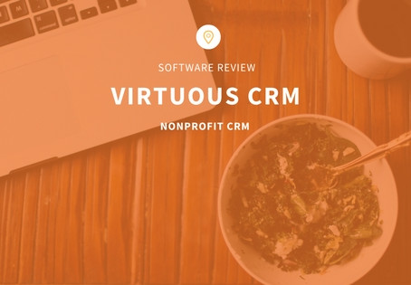 Virtuous CRM Software For Nonprofits Review