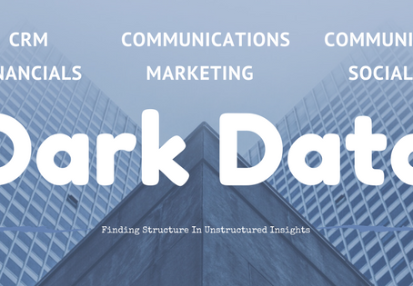 Benefiting from Dark Unstructured Data: What It Is & Why You Need It