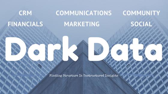 Unstructured Dark Data in Nonprofits
