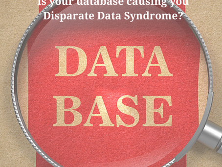 You won't believe the impact of Disparate Data Syndrome?