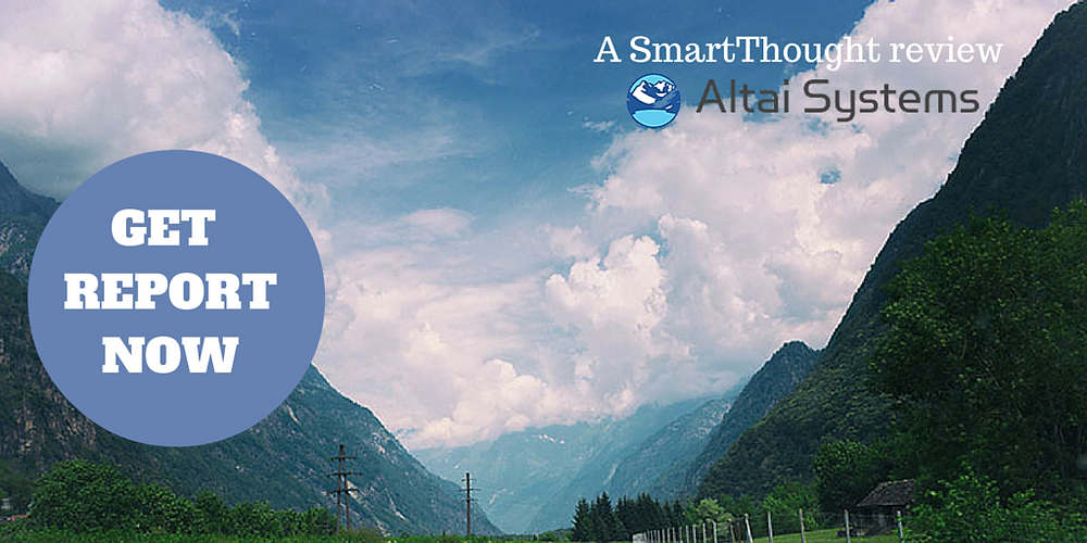 A SmartThought AMS product review of Altai Membership Database Systems for free download