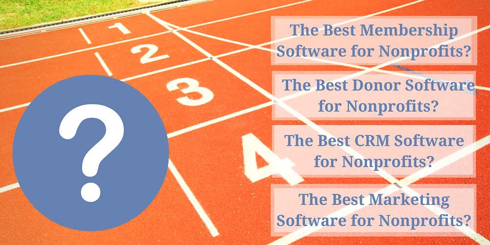 The Best Membership Software|CRM|Donor|Databases|The Prob with Lists