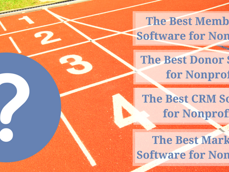 What is The Best AMS Software, Donor, CRM Software! Really?