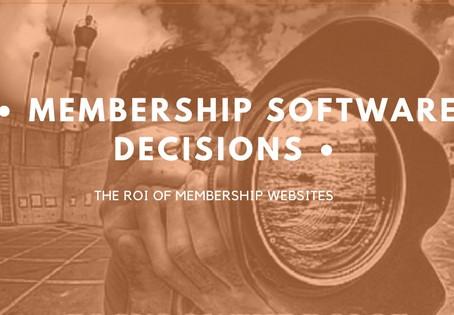 Keys To Achieving ROI of Membership Websites