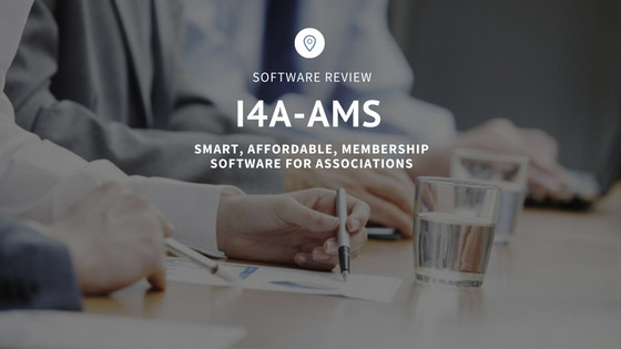 i4A AMS Software Review for membership management