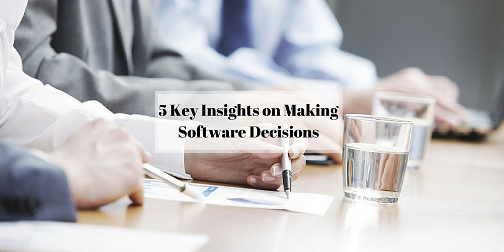 5 Key Insights in Making Nonprofit Software Decisions