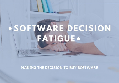 How to Avoid Decision Fatigue In Software Searches
