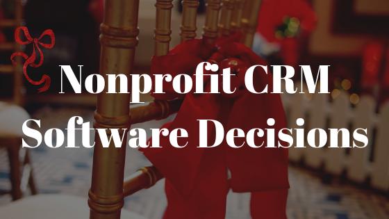 Alternative CRM Software Decisions