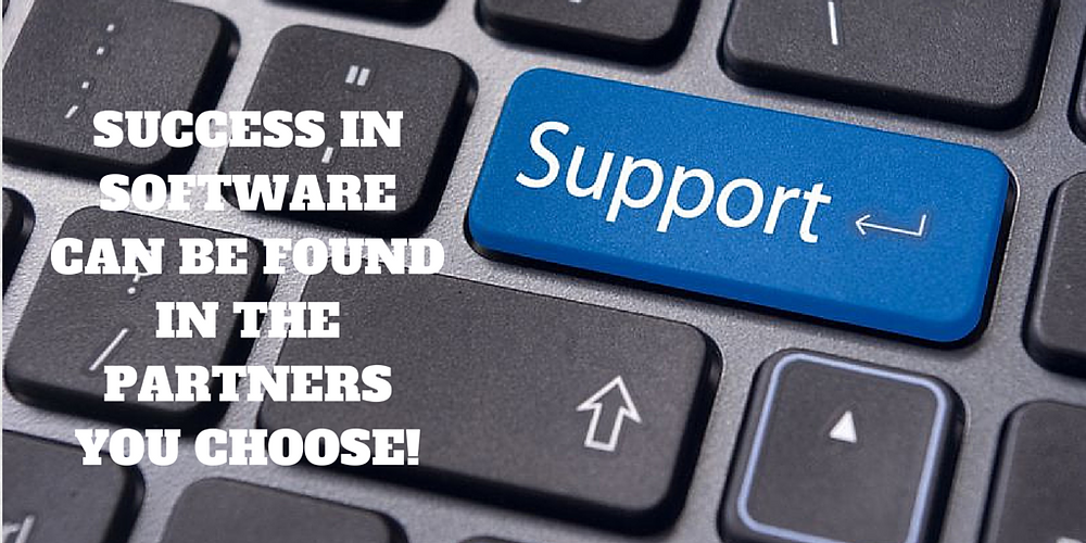 Nonprofit software requires support like every other software program. You need a partner you can trust!