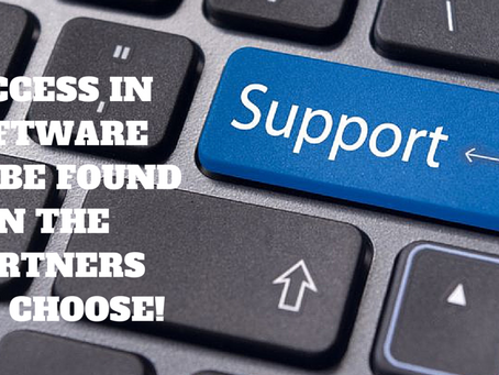 Good Software can be found in the partners you choose