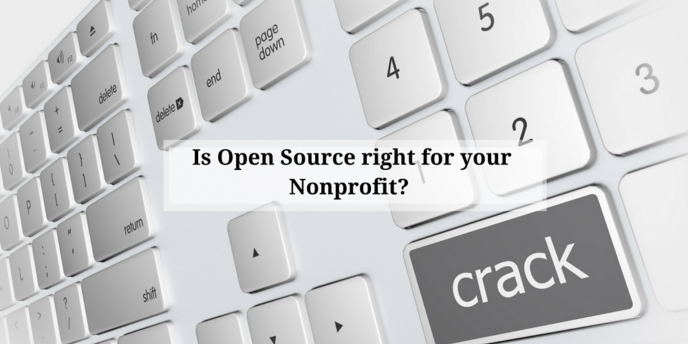 Open Source for Nonprofits