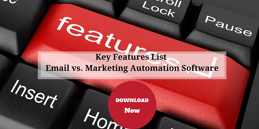 Email Marketing Software vs. Marketing Automation Software