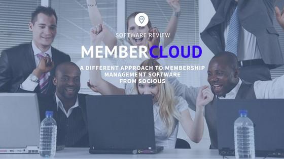 Socious MemberCloud Membership Management Solution
