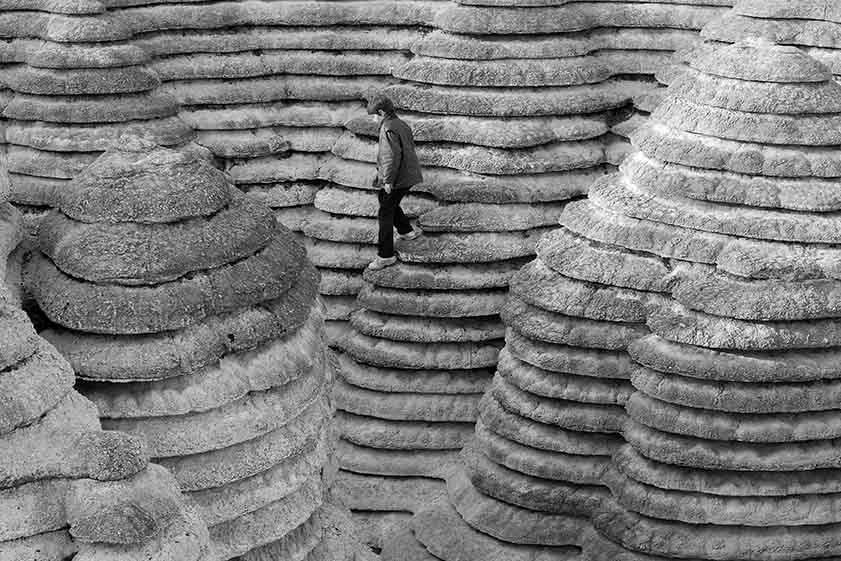 8. Le Canyonaustrate. Oeuvre monumentale de Gérard Singer.