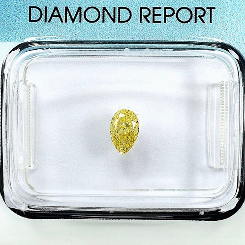 0.27ct Fancy Yellow SI1 Diamond