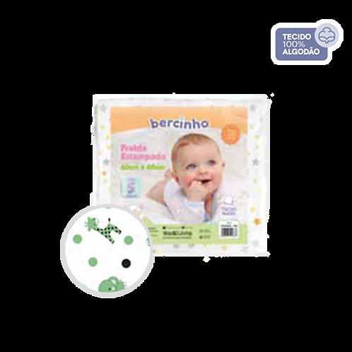 Pacote Fralda Bebê Branco e Verde (5 unidades) - Bercinho