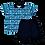 Thumbnail: Conjunto bebê camisa Polo e bermuda Azul Marinho Coqueiros