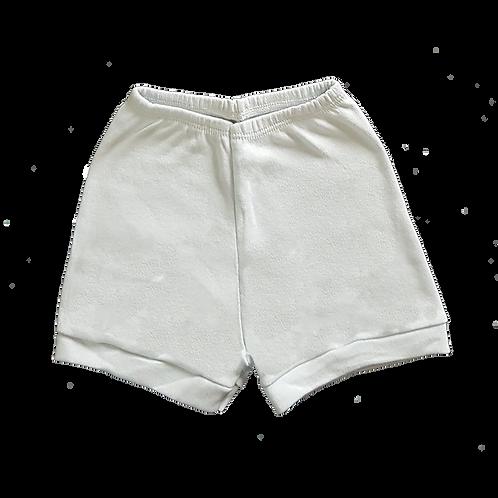 Shorts (Tapa Fralda) Bebê Suedine Liso - Flaphy
