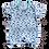 Thumbnail: Banho de Sol Bebê Manga Curta Meia-Malha Azul Tubarões - Flaphy