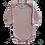 Thumbnail: Body bebê Manga Longa Liso - Flaphy
