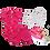 Thumbnail: Conj. Body e Shorts Pink Unicórnios + Babador Bandana e Tênis Branco e Rosa