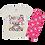 Thumbnail: Conjunto Bebê Camiseta Manga Curta e Short Ciclista Off Unicórnio