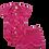 Thumbnail: Conjunto Bebê 2 peças Body e Shorts Pink Unicórnios - Kappes