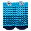 Thumbnail: Meia Bebê Masculino Azul Ancora e Baleia (16-19)