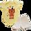 Thumbnail: Conjunto Bebê 2 peças Body e Shorts Amarelo e Branco Gatinho - Kappes