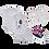 Thumbnail: Kit Bebê 2 Body e Shorts Branco Dog + Tênis Bebê Preto e Rosa + Babador Bandana