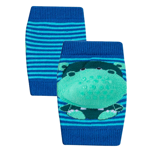 Joelheira de bebê Azul Sapo