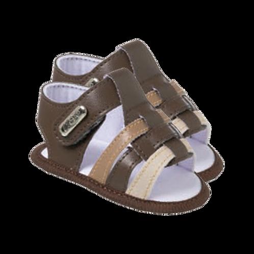 Sandália Bebê Masculino Marrom - Keto Calçados