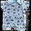 Thumbnail: Banho de Sol Bebê Manga Curta Meia-Malha Azul Submarino - Flaphy